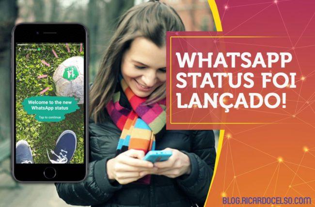 WhatsApp STATUS foi lançado!